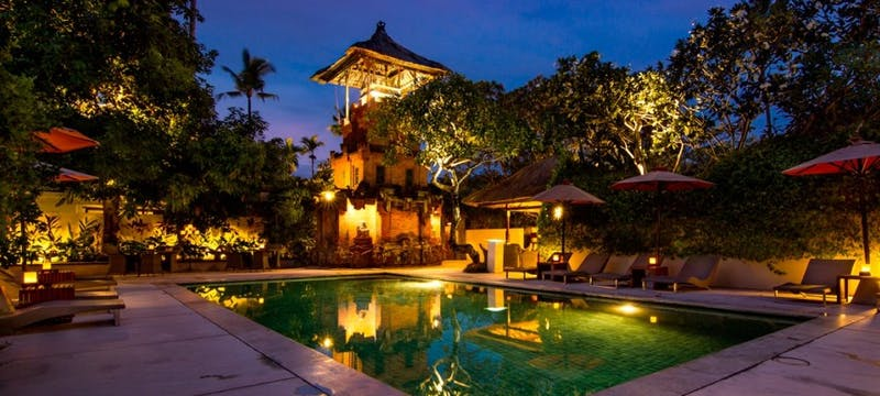 Main Pool - Evening