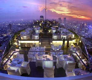 Vertigo and Moon Bar at Banyan Tree Bangkok