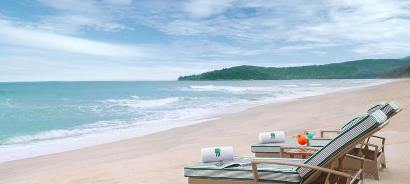 Beach  at Banyan Tree Phuket