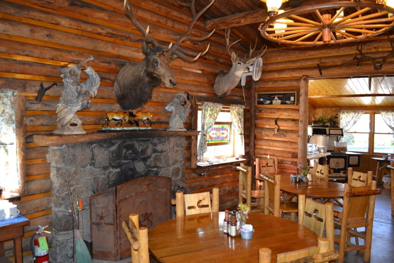 Dining Area at Bar Lazy J Ranch, Colorado