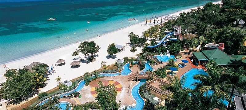 Pirate Island Water Park at Beaches Negril Resort & Spa