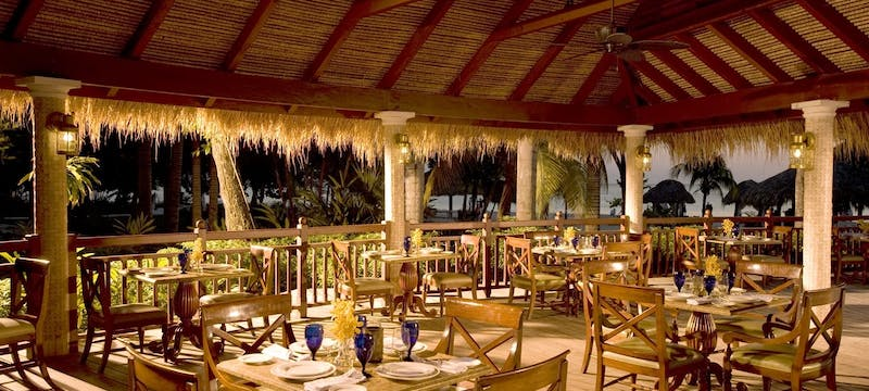 Outdoor dining at Beaches Negril Resort & Spa