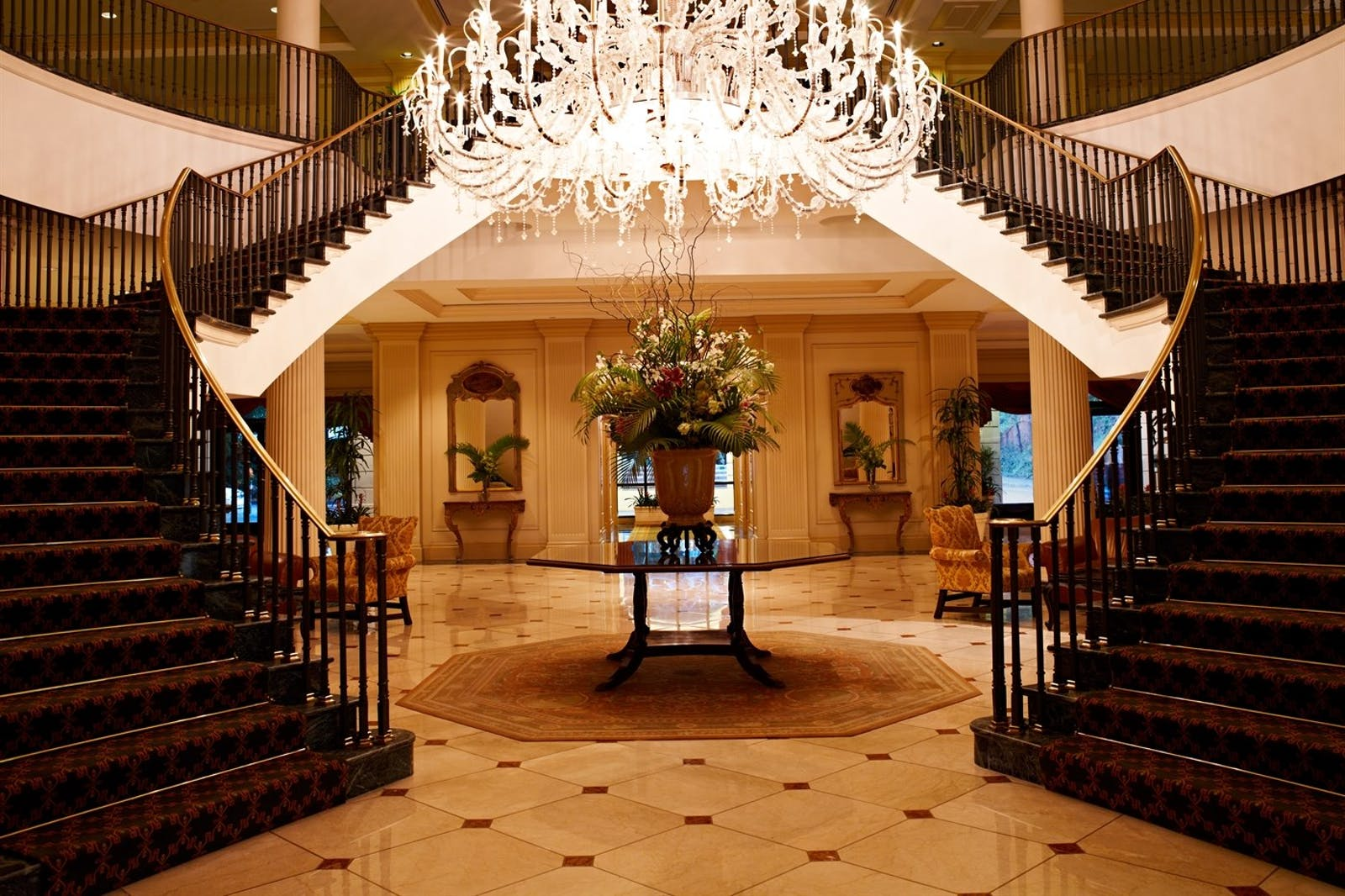 Grand Staircase at Belmond Charleston Place, Charleston
