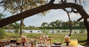 Alfresco Dining at Belmond Khwai River Lodge