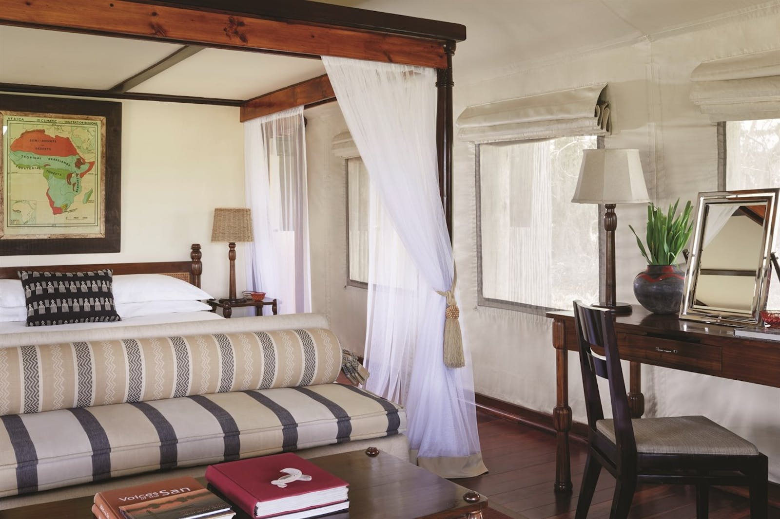 Luxury Tent at Savute Elephant Lodge, A Belmond Safari, Botswana