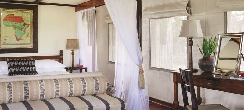 Luxury Tent at Belmond Savute Elephant Lodge, Chobe National Park