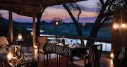 Dining at Belmond Savute Elephant Lodge, Chobe National Park
