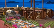 Dining at Bequia Beach Hotel