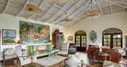 Library at Bequia Beach Hotel