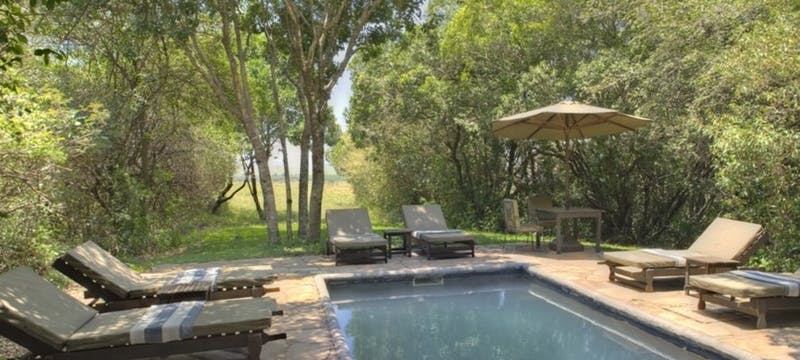 Swimming Pool at &Beyond Bateleur Camp