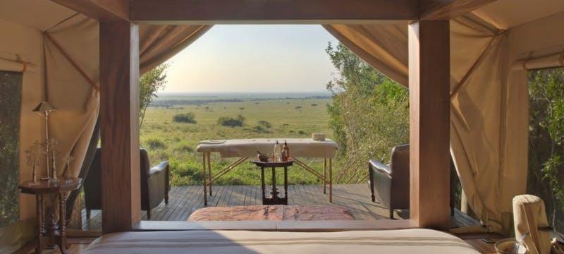 Luxury Tent at &Beyond Bateleur Camp