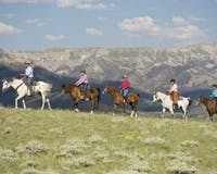 Horse Riding Activity at Bitterroot Ranch, Wyoming