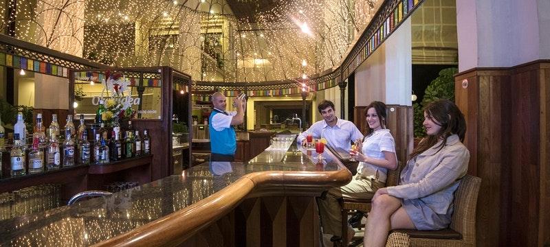 Blau Varadero Lobby Bar At Night