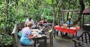 Jungle Breakfast at Abai Jungle Lodge