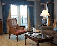 Living Room Area at Boston Harbor Hotel