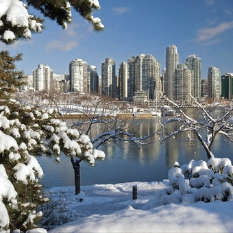 Vancouver Winter Scene