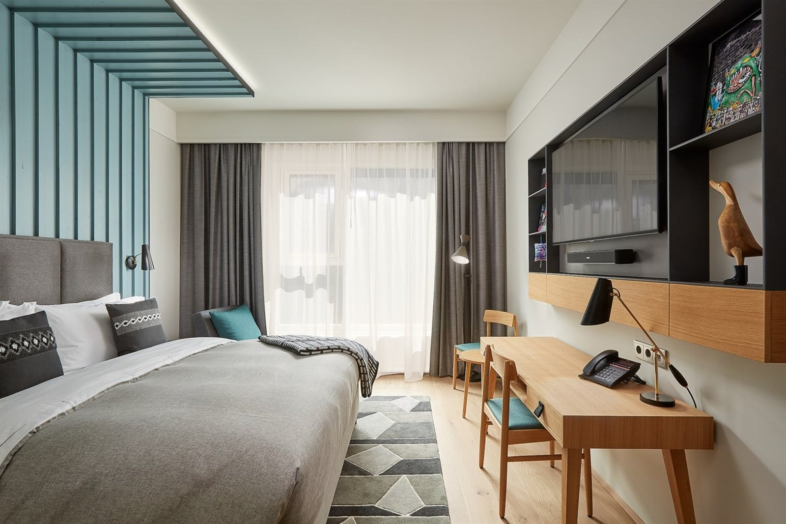 King Room, Canopy by Hilton Reykjavik Hotel, Iceland