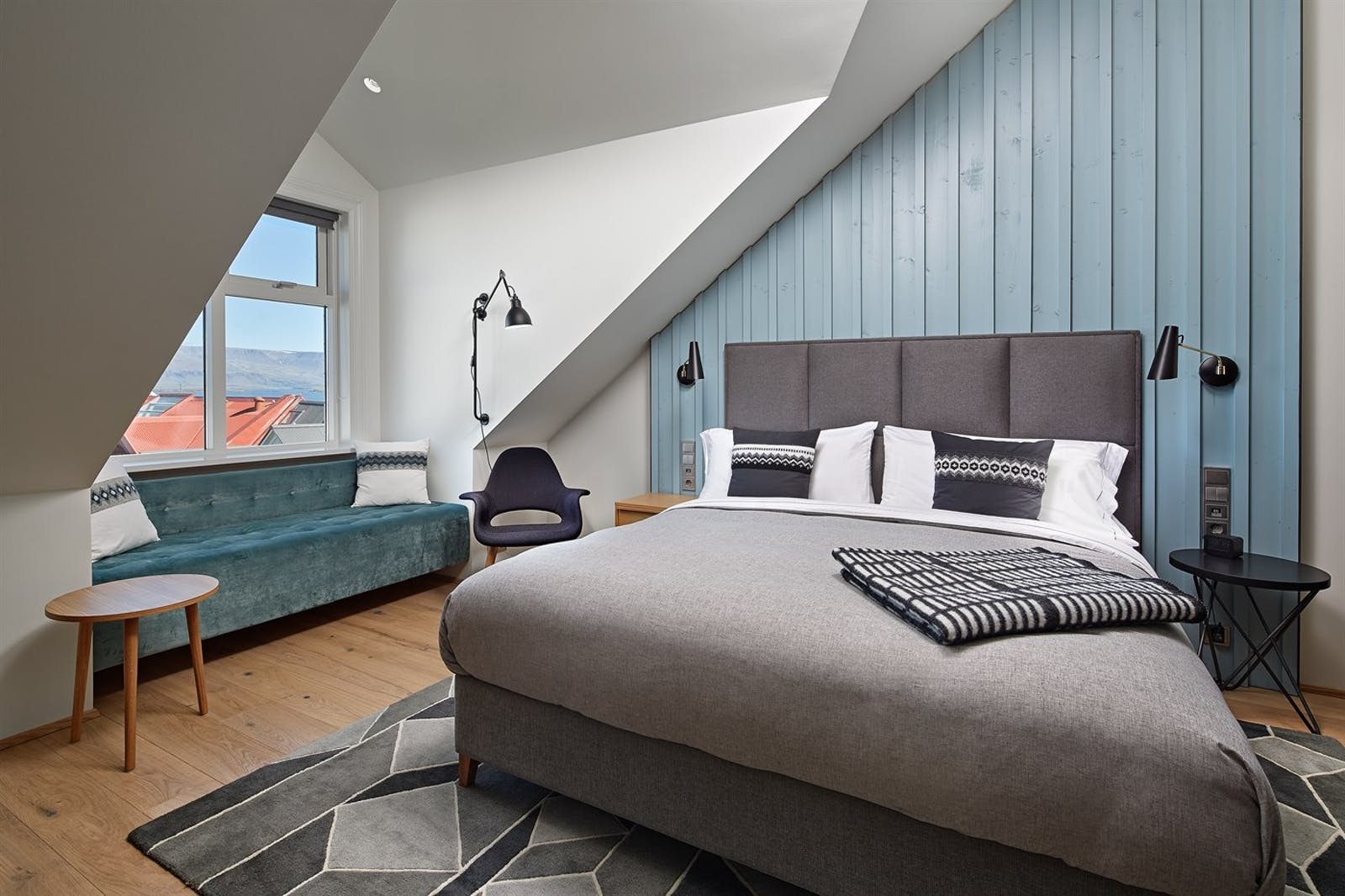 King Junior Suite, Canopy by Hilton Reykjavik Hotel, Iceland