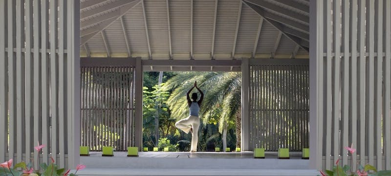 Yoga Pavilion at Carlisle Bay
