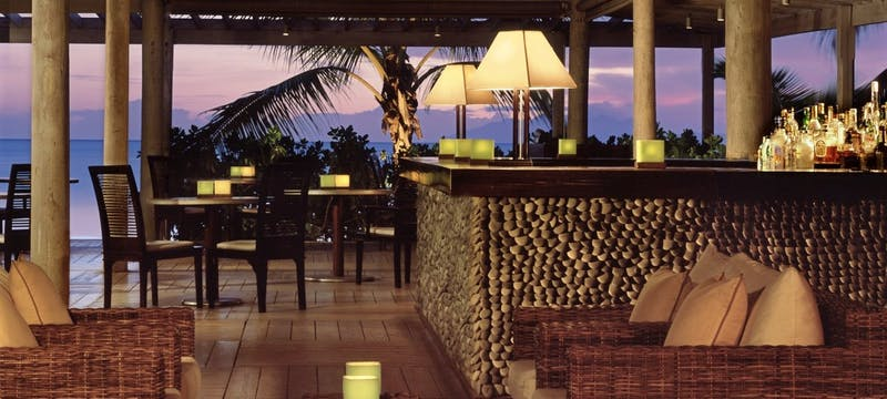 The Bar At Indigo By The Beach at Carlisle Bay