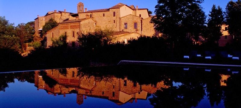 Reflections Of Castel Monastero