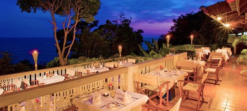 Cliff Restaurant at Night