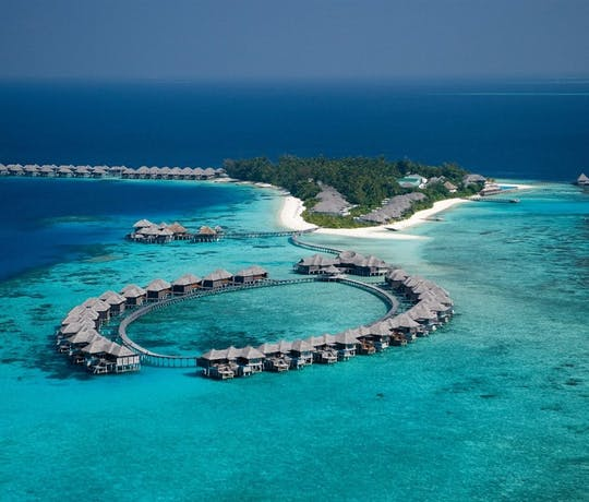 Coco Bodu Hithi Maldives Aerial View