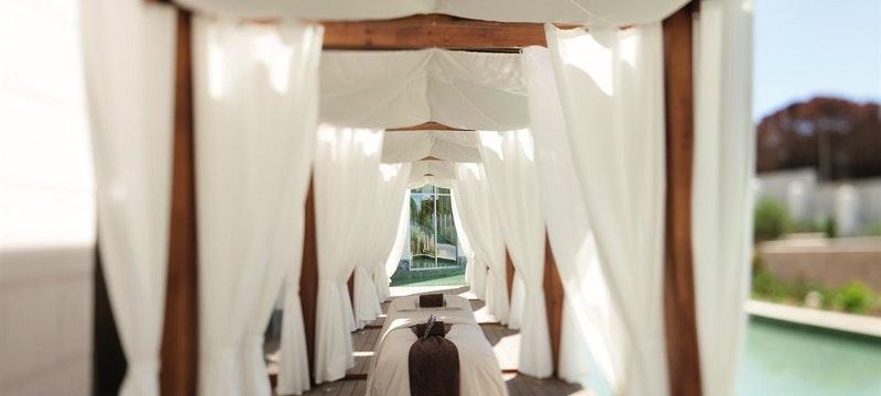 Spa Cabanas And Exterior