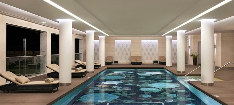 Covered Heated Pool