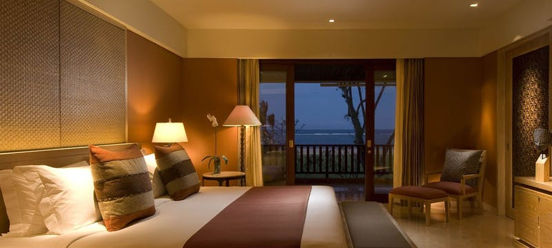 Conrad Suite Bedrom at Conrad Bali Resort & Spa