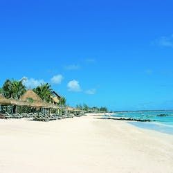 Beach  at Constance Belle Mare Plage Resorts & Villas