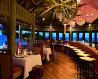 Spiaggia restaurant  at Constance Belle Mare Plage Resorts & Villas