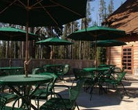 Outdoor Terrace at Crater Lake Lodge (Crater Lake National Park)