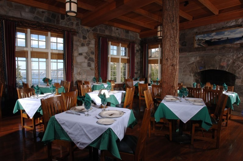 Dining Room at Crater Lake Lodge (Crater Lake National Park)