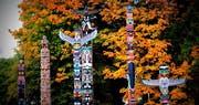 Totem Poles, Stanley Park Vancouver