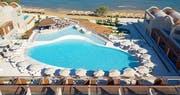 Birdview of the resort
