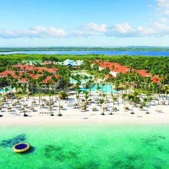 Aerial View of Dreams Palm Beach