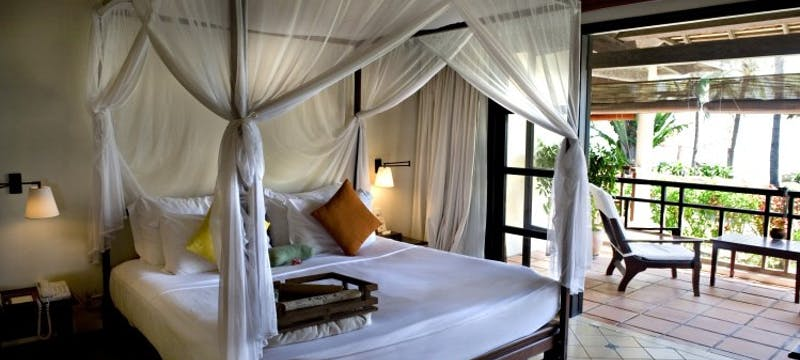 Deluxe Seaview room interior at Evason Ana Mandara and Six Senses Spa