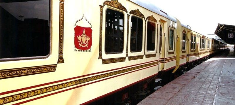 Exterior of Palace on Wheels