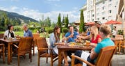 Mallard Lounge Terrace