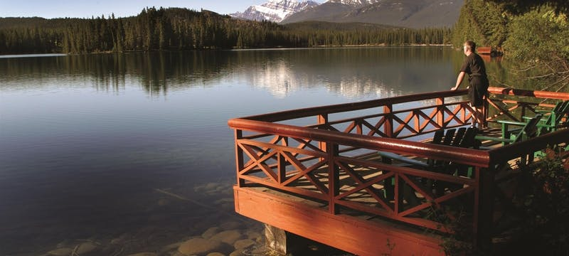 Sundeck on Lac Beauvert