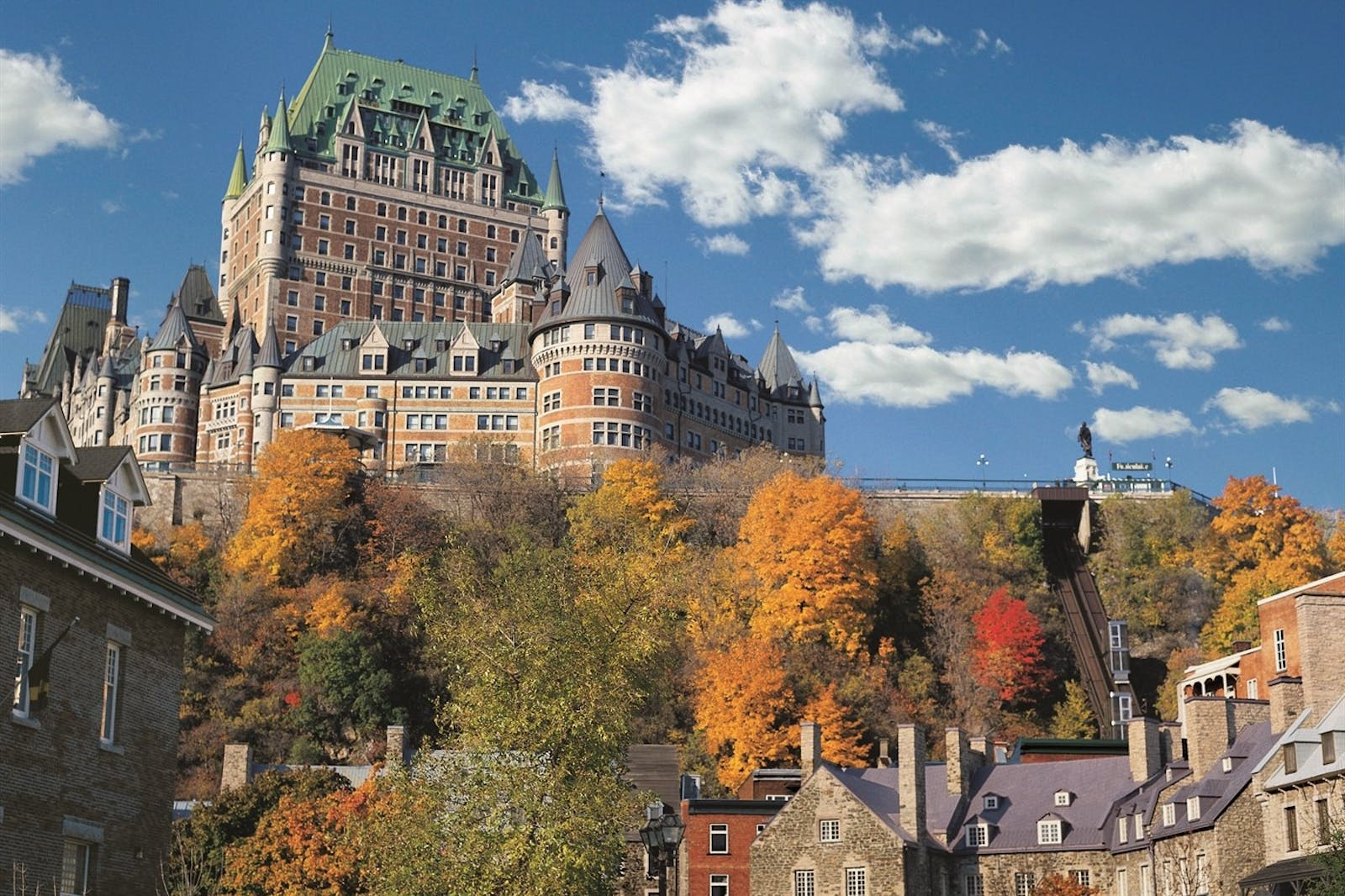Exterior of Fairmont Le Chateau Frontenac, Quebec City