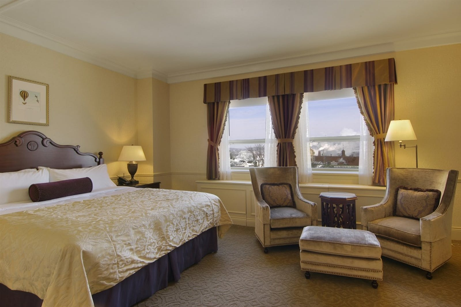 Fairmont Room at Fairmont Le Chateau Frontenac, Quebec City