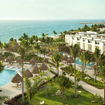 Aerial View Of Finest Playa Mujeres