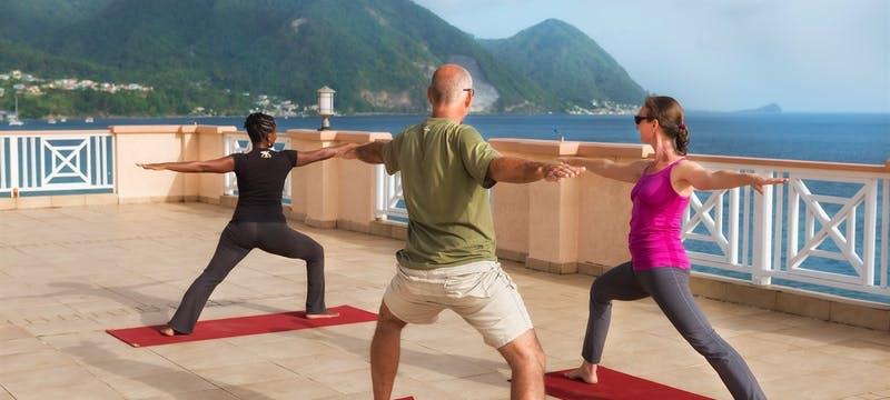 Yoga on the Sky Terrace