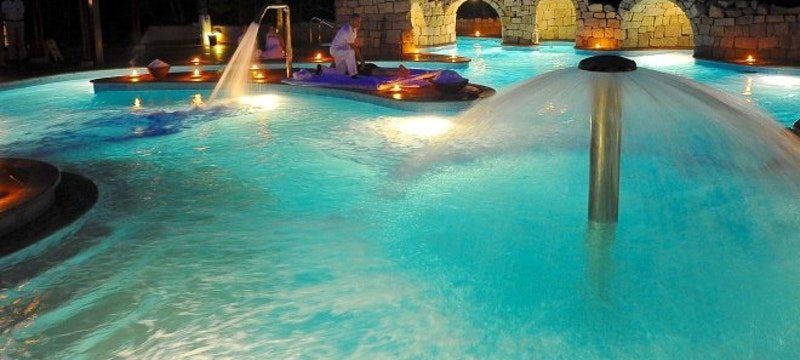 Thalasso del Forte by night