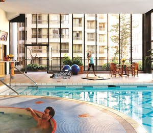 Pool at Four Seasons Hotel Vancouver