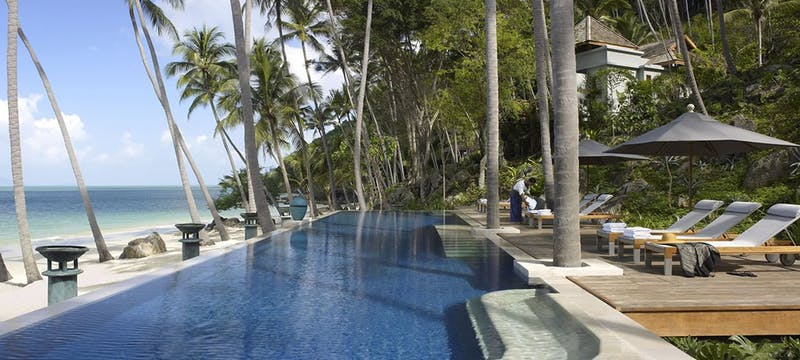 Main Swimming Pool at Four Seasons Resort Koh Samui