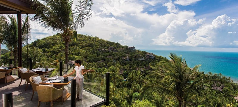 Alfresco Dining at Four Seasons Resort Koh Samui