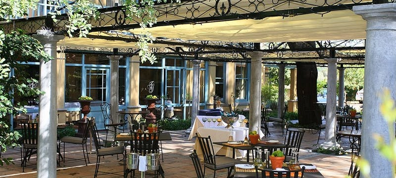 Restaurant at Franschhoek Country House and Villas